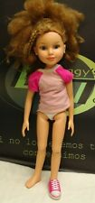 """BFC 19"""" Doll Brown Hair Blue Eyes Articulated Body Doll"""