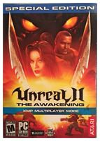 Unreal II 2 The Awakening XMP Special Edition Pc Sealed Retail Box Nice XP