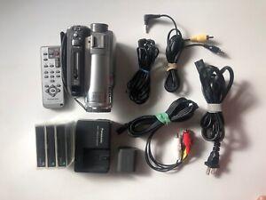 Panasonic PV-GS320 Mini DV Camcorder and accessories