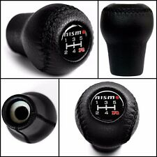 New Nissan NISMO 5 Speed Leather Gear Stick Shift Knob Screw On 10mm (M10xP1.25)