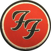 FOO FIGHTERS AUFBÜGLER / EMBROIDERY PATCH / AUFNÄHER # 1 - 9 cm