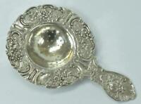 Teesieb Seier aus 800 Silber antik Jugendstiel tea strainer silver
