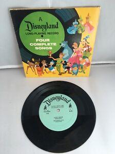 Walt Disney Disneyland Long Playing Vintage Record Mickey Mouse