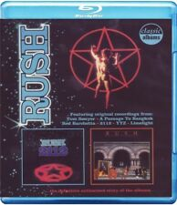 RUSH - 2112/MOVING PICTURES-CLASSIC ALBUMS )  BLU-RAY NEW+