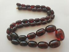 Antik Bernsteinkette 64 Gramm Amber Necklace Butterscotch Vintage Natur Batlic