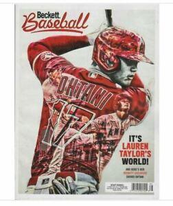 New November 2021 Beckett Baseball Card Price Guide Magazine With Shohei Ohtani