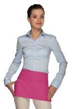 solids 3 pocket waist aprons server waitress waiter specify color