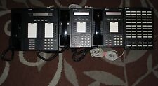 Lot of 4 Avaya Lucent AT&T VoIP Phone Networking System MLX-28D MLX-10D (2) DSS