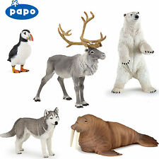 PAPO Wild Animal Kingdom ARCTIC & ANTARCTIC - Choice of 16 animals all with Tags