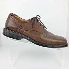 Florsheim Mens Shoes Size 10 Medium Brown Derby Apron Toe Brett 18535-200