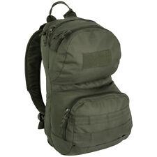 Highlander Scout Pack Ejército Senderismo Caza Militar Mochila Morral 12L Oliva
