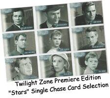 Twilight Zone Serie 1,2,3,4 - Zoll Stars Einzel Chase Karte Auswahl S-1 - S-36