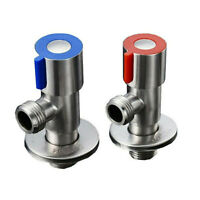 "2 pieces Angle Valve Sink wall connection regulating valve 1/2 ""inch ball valve"