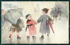 Children Greetings Belcher George Geo ABRADED Vienne serie 118 postcard QT6389