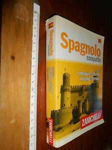 LIBRO -SPAGNOLO COMPATTO - ZANICHELLI - DIZIONARIO - 2013