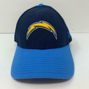 Los Angeles Chargers NFL New Era 9Forty Adjustable Strap Hat Powder & Navy Blue