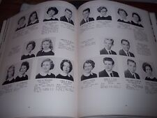 1961 Milford Mill High School Yearbook Baltimore County Maryland Milestone Orig