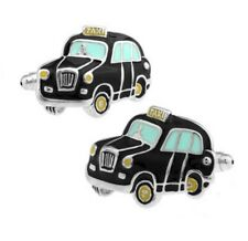 Black Cab Taxi Cufflinks