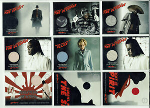 The Spirit Movie Inkworks 2008 Pieceworks Costume Card Selection PW1 - PW12A/B