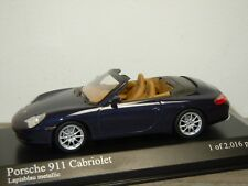 Porsche 911 996 Cabriolet 2001 - Minichamps 1:43 in Box *34728
