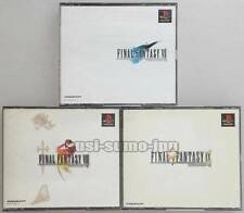 "PS "" FINAL FANTASY VII VIII IX 7 8 9 "" FF SQUARE PLAYSTATION JAPAN -6"