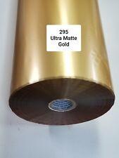 Hot Stamping Foil, 295Ultra Matte Gold, 20 in x 2000 ft, PROPIUSA