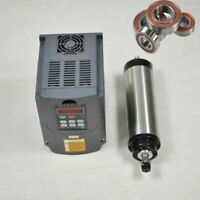 CNC KIT 1.5KW VFD DRIVE INVERTER 1.5KW ER16 WATER-COOLED COOLING MOTOR SPINDLE