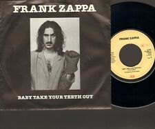 """FRANK ZAPPA Baby Take Your Teeth Out SINGLE 7"""" Stevie's Spanking STEVE VAI"""