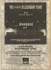 28/1/89Pgn02 Advert: Original Hits On 'the Marquee 30 Legendary Years' 15x11