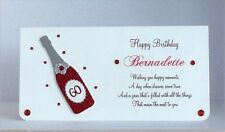 Personalised Birthday Gift/Money/Voucher Wallet- All colours available All Ages