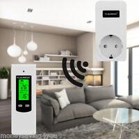 NEU Steckdosenthermostat Regler Wireless Thermostat Stecker RF Thermoschalter