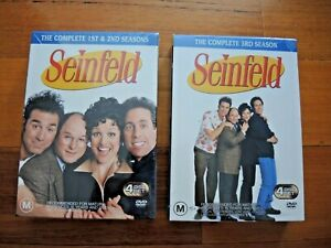 Seinfeld Seasons 1,2 and 3 DVD box sets BRAND NEW Sealed