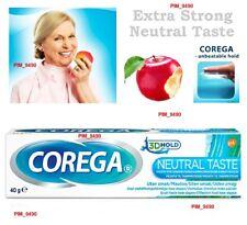 COREGA Denture FIXING CREAM - Extra Strong NEUTRAL TASTE 40g