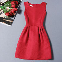New Women Summer Fashion Casual Sleeveless Floral Mini Party Cocktail Dress