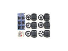 Custom Wheels for 1/24 Scale Cars and Trucks 24pc Wheels & Tires Set