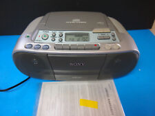 Sony Cfd-S01 Cd Radio Cassette Fm/Am Cd-R Cd-Rw Boombox For Parts
