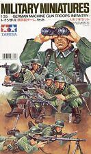 Tamiya 35038 1/35 Scale Figure Model Kit German Machine Gun Troops Infantry