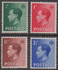 GB 1936 Edward VIII Definitives Stamps Set~(4)~Unmounted Mint ~UK Seller