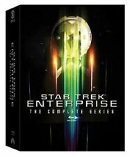 Star Trek: Enterprise - The Complete Series (Blu-ray Disc, 2017, 24-Disc Set)