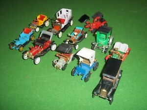 lot miniatures voitures tacots huilor rami,clé,del à completer