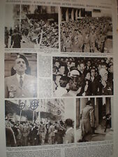 Photo article Riots against French in Algiers Algeria 1960