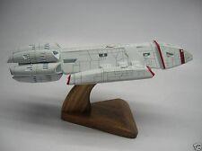 Valkyrie Battlestar Galactica Spacecraft Dry Wood Model Small New
