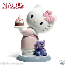 New Hello Kitty X NAO LLADRO special collaboration Happy Birthday Japan Official