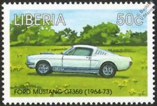 1964-1973 Shelby FORD MUSTANG GT-350/GT350 automobile voiture TIMBRE (1998 Libéria)