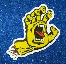 Santa Cruz Screaming Hand Vinyl Sticker for Skateboard, Laptop (Class 1 Promo)