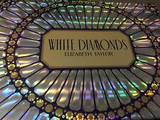 WHITE  DIAMONDS ELIZABETH TAYLOR 4 PIECE GIFT SET FRAGRANCE BODY WASH,CREAM SPRA