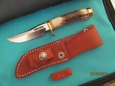 RANDALL KNIFE KNIVES MINIATURE MINI 3 DEEP GROOVED LARGE STAG #609 TS/BSH/BBC/