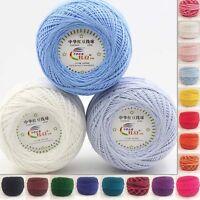 16 Colors Warm Chunky Crochet Cotton 50g Knitting Wool Yarn Baby Knit Ball Yarn