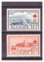 ALGERIE. N°  300/301. 2  VALEURS   CROIX ROUGE      NEUVES  **     .SUPERBE .