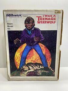 Geometric Designs 1:6 Scale Jeff Yagher I was  teenage Werewolf Resin Model Kit